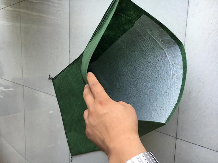 绿色草籽生态袋